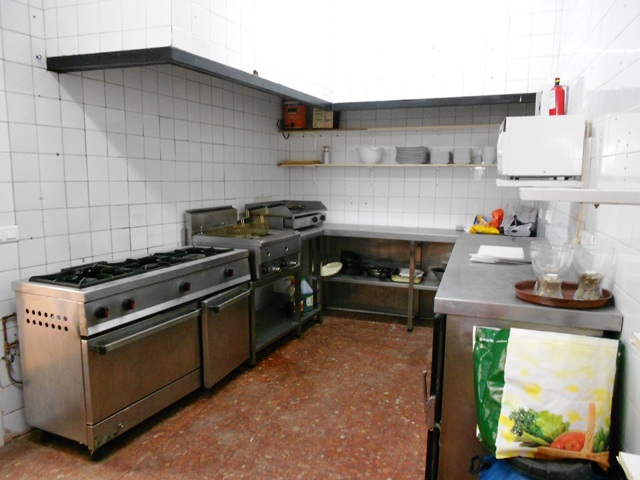 Industrial Grade Kitchen