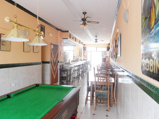Bar interior from Terrace